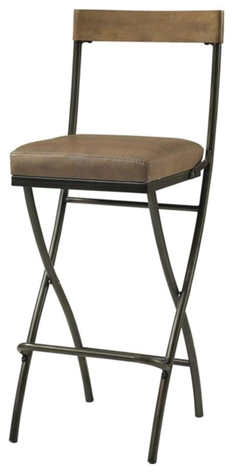 29 Inch Folding Bar Stool by Hillsdale Thornhill 29 5 Inch Counter Height Folding Stool