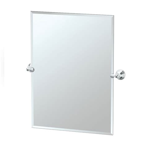 gatco bathroom mirrors rectangular tilt mirror tilting charlotte chrome tilting rectangular mirror gatco wall