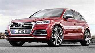 audi sq5 2017 pricing and spec confirmed car news