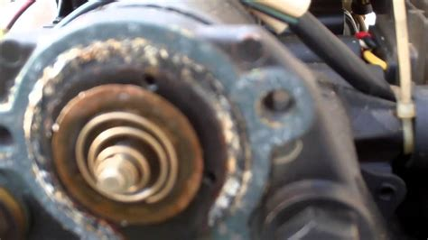 Nissan 40d2 Outboard Thermostat Replacement Youtube