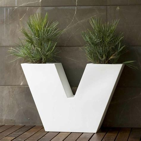 Outdoor Modern Planters Contemporary Outdoor Planters