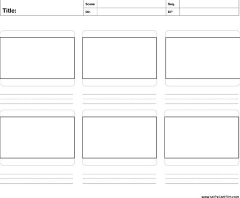 storyboard template download free premium templates