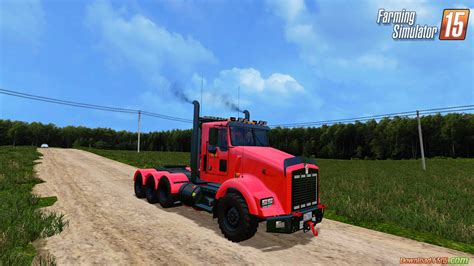 cummins pickup bed log truck for fs15 farming simulator farming simulator 15 fifth wheel trucks autos post