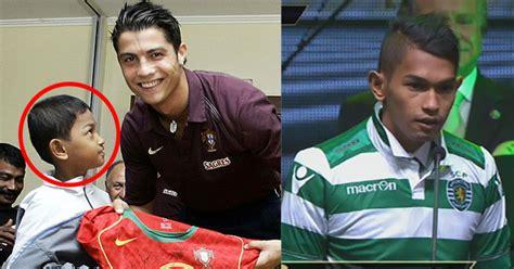 Kaos 2016 Portugal Ronaldo selamat martunis resmi berlatih di sporting lisbon