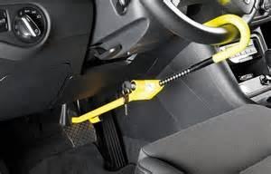 Steering Wheel Locks Up Car Shuts Lenkradschloss Archive Wegfahrsperre Und Lenkradkralle