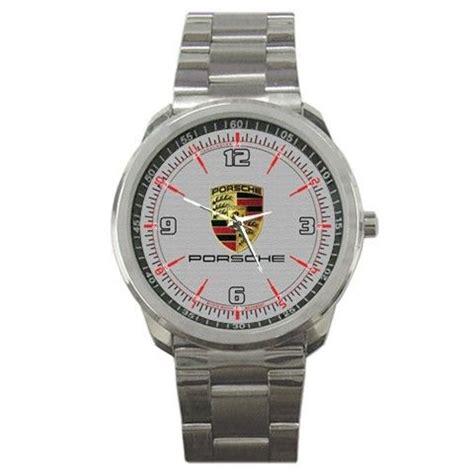 porsche logo emblem sport metal watches