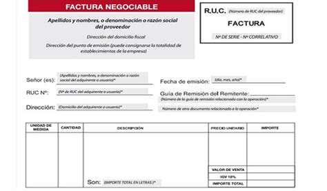 modelos de facturas 2015 la factura negociable y sus implicancias noticias contables