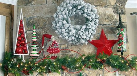 dr seuss inspired christmas mantel decorations decoist