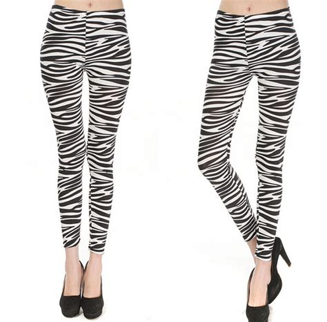 zebra pattern pants new arrival women s fitness yoga pants with fashion