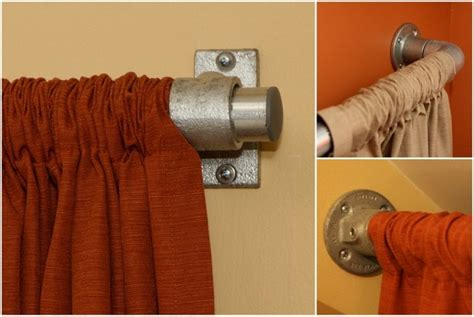 pipe curtain rod industrial pipe curtain rods