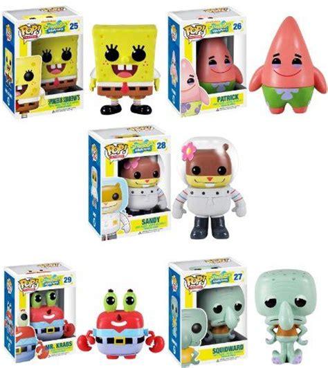 Funko Pop Spongebob Squidward vinyls pop figurine and look at on