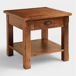 madera end table world market