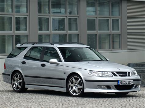 hirsch performance saab 9 5 wagon aero photos