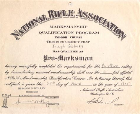 nra certificate template victim disarmament 171 j neil schulman