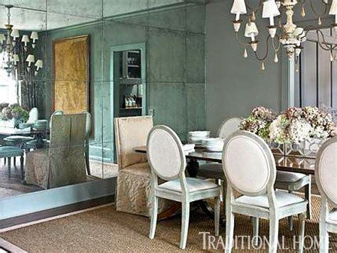 Dining Room Wall Mirrors Our Best Before And After Dining Rooms Traditional Home