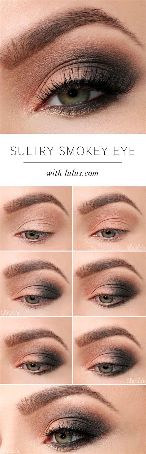 tutorial makeup smokey eyes lulus how to sultry smokey eye makeup tutorial lulus
