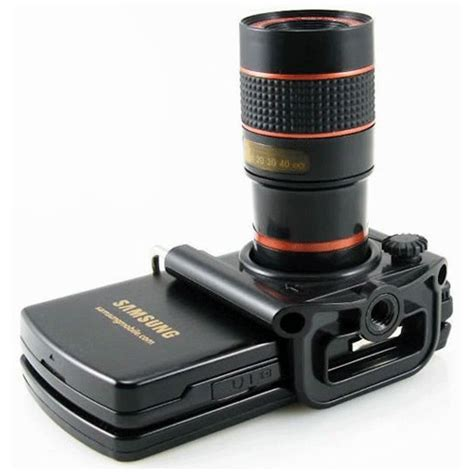 Lensa Universal lensa telescope smartphone universal black