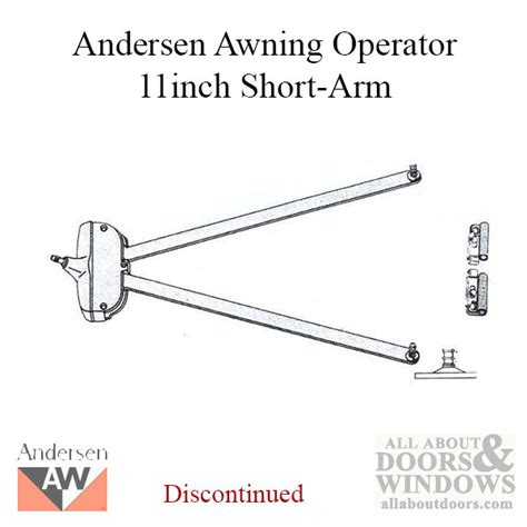 Andersen Awning Window Parts by Unavailable Awning Operator Psa Arm Andersen