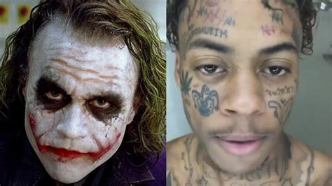 joker tattoo gang boonk gets joker face tattoos and says he s the boonk gang