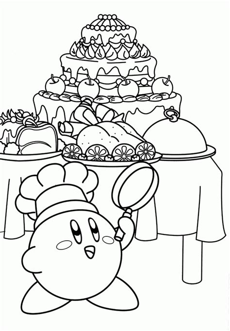 coloring pages kirby kirby coloring page coloring pages of epicness