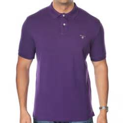 Polo T Shirt Gant Solid Polo T Shirt Gant From The Menswear Site Uk