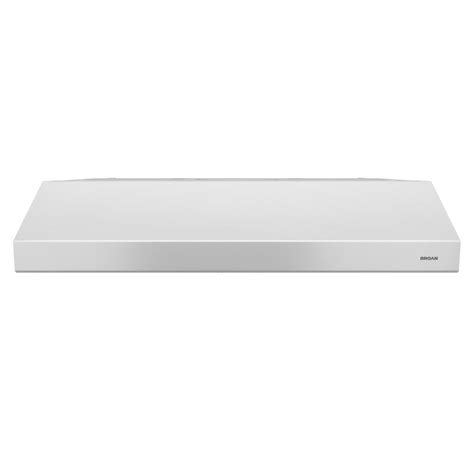 white range hood under cabinet broan qt20000 quiet hood 30 in convertible range hood in