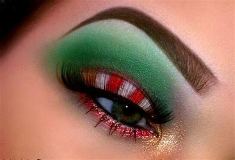 10 best christmas eye makeup looks ideas styles 2015