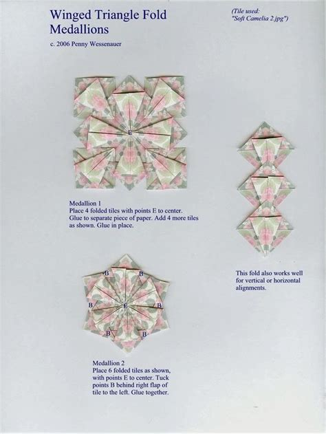 Origami Tea Bags - 1000 images about origami mandala tea bag on