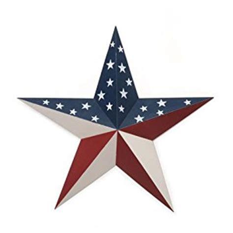 amazon com 6 american flag star pattern barn stars 18