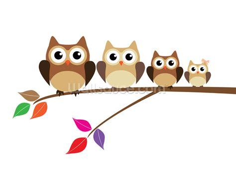 owl family wallpaper wall mural wallsauce canada