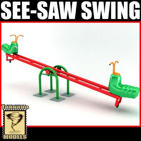 seesaw swing dxf see saw swing