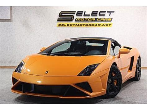 Lamborghini Gallardo Spyder Specs 2013 Lamborghini Gallardo Lp 560 4 Spyder Data Info And