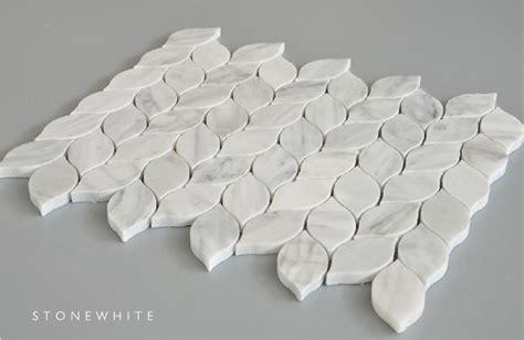 Kitchen Glass Backsplash Beautiful Leaf Shape Backsplash Mosaic Tile Buy Leaf