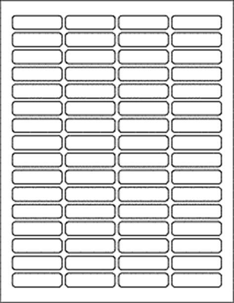 Download Label Templates Ol1050 1 813 Quot X 0 5 Quot Labels Label Matrix Template Onlinelabels Com File Tab Labels Template