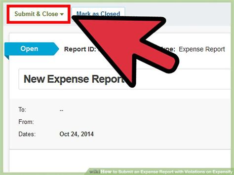 report section 8 violations how to submit an expense report with violations on expensify