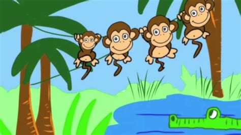 5 little monkeys swinging in a tree lyrics five little monkeys swinging in a tree tune pk