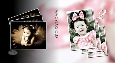 happy birthday album design happy birthday mia ana studios