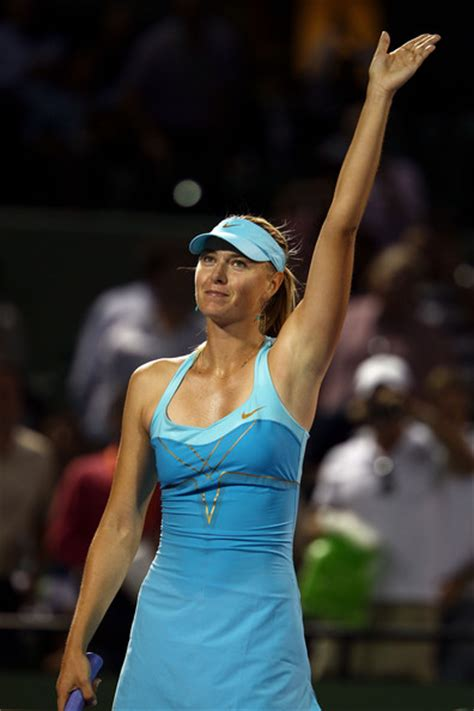 Wardrobe During Tennis Matches by Sharapova Curiouskevin