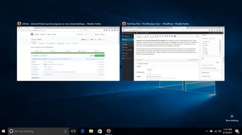 windows 10 task view tutorial virtual desktop tips and tricks for windows 10