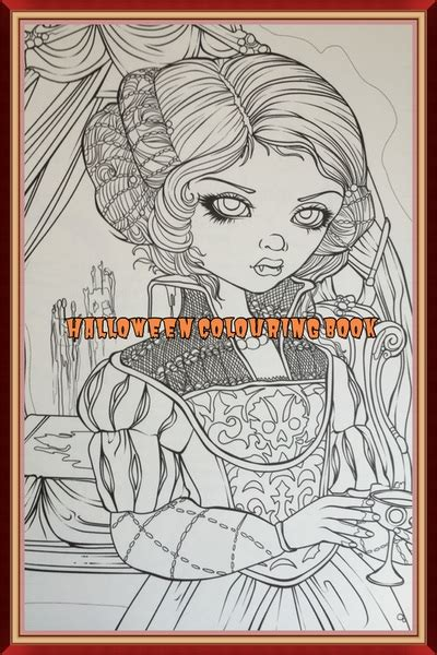libro jasmine becket griffith coloring book halloween coloring book by jasmine becket griffith colour with claire