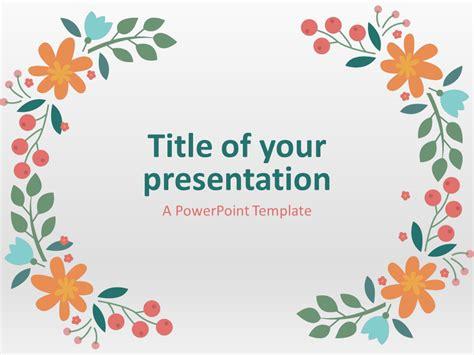 spring powerpoint template presentationgo com