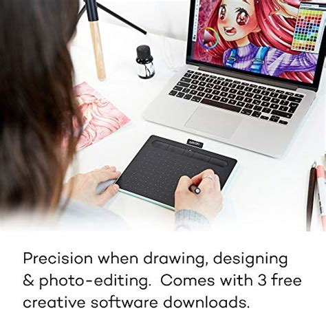wacom intuos drawing tablet   bonus software included
