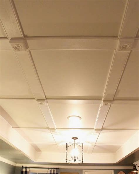 Low Profile Suspended Ceiling by Low Profile Coffered Ceiling Basement For The Home