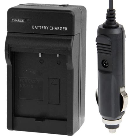Battery Casio Np 110 1 2 in 1 digital battery charger for casio np 110