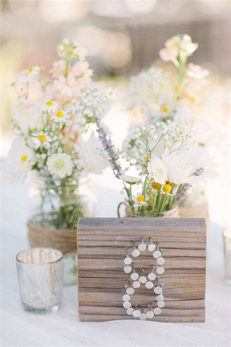 unique and creative wedding table number ideas weddbook