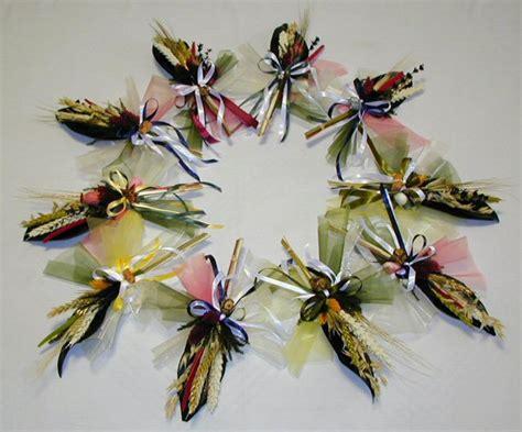 fiori secchi per bomboniere biedermeier bomboniere