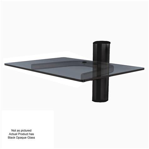 Single Wall Shelf Crimson Single Shelf Component Wall System Black With