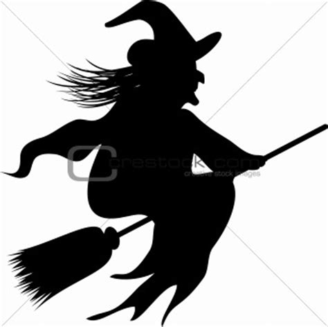 image 1183767 halloween witch silhouette from crestock