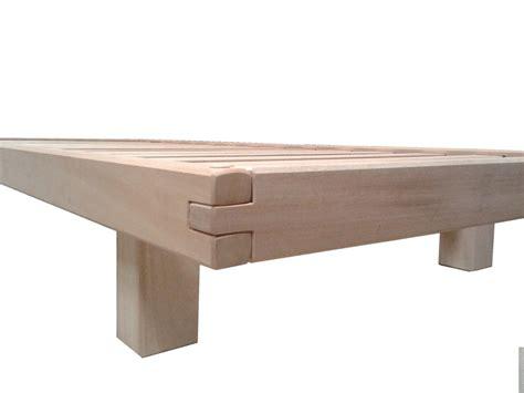 letti a in legno per bambini letto a doghe bio wood per bambini vivere zen