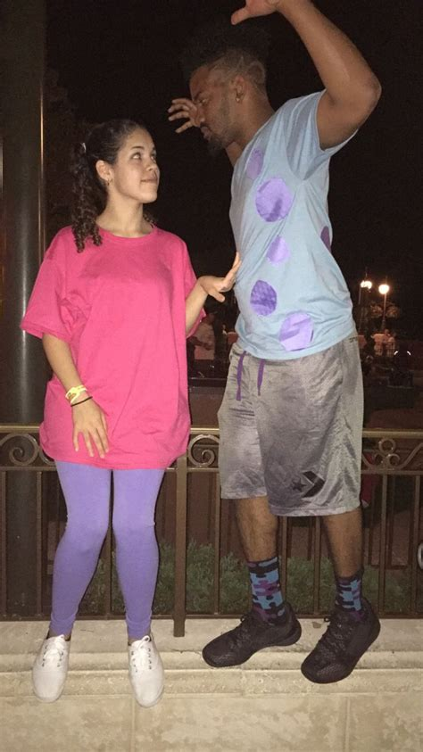 easy   couples costume boo  sully couple